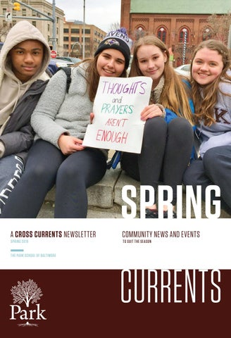 87c69d82e The Park School Cross Currents Magazine and Annual Report Fall 2016 ...