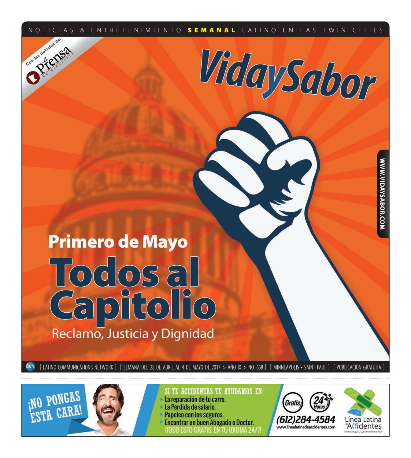 Vida y Sabor 668 by Latino Communications Network LLC - issuu