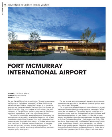 Page 40 of Fort McMurray International Airport