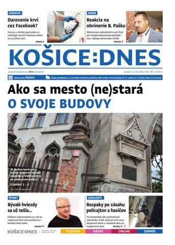 bcaf748f81fb3 KOŠICE:DNES 23.5.2018 by KOŠICE:DNES - issuu