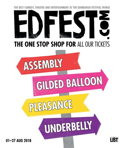 Edfest com 2018 Brochure by Test - issuu