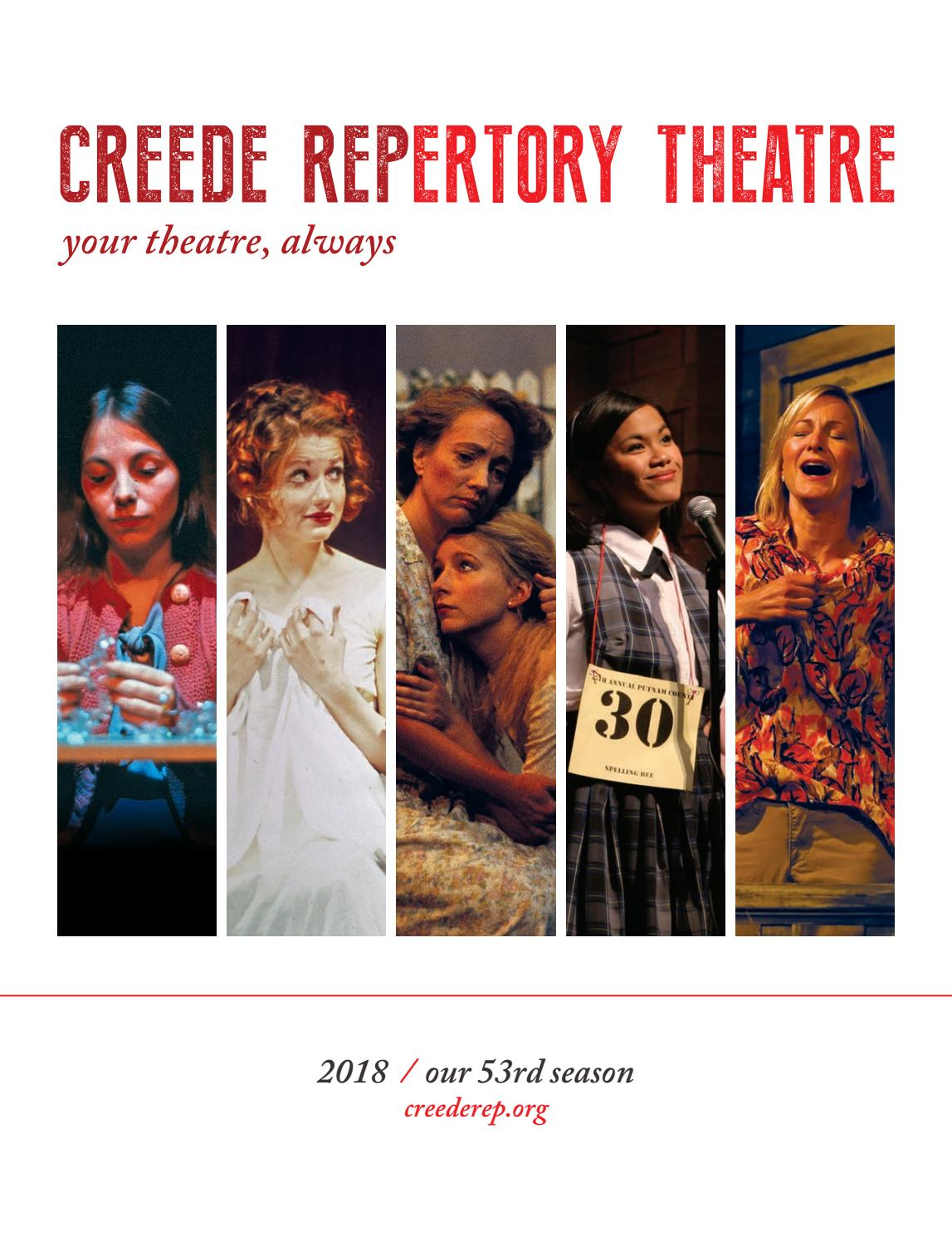 0f9e6f421a9fd9 Creede Repertory Theatre Program 2018 by Creede Repertory Theatre ...