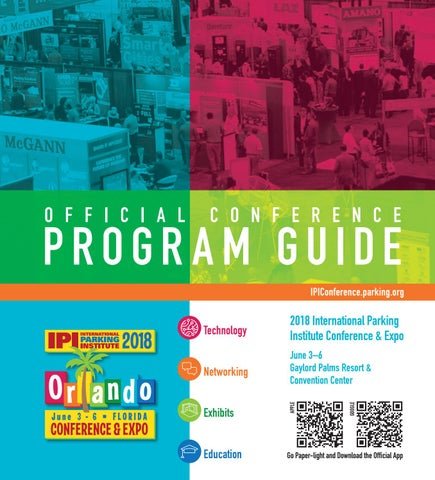 c885a759788 2018 IPI Conference   Expo - Official Conference Program Guide by ...