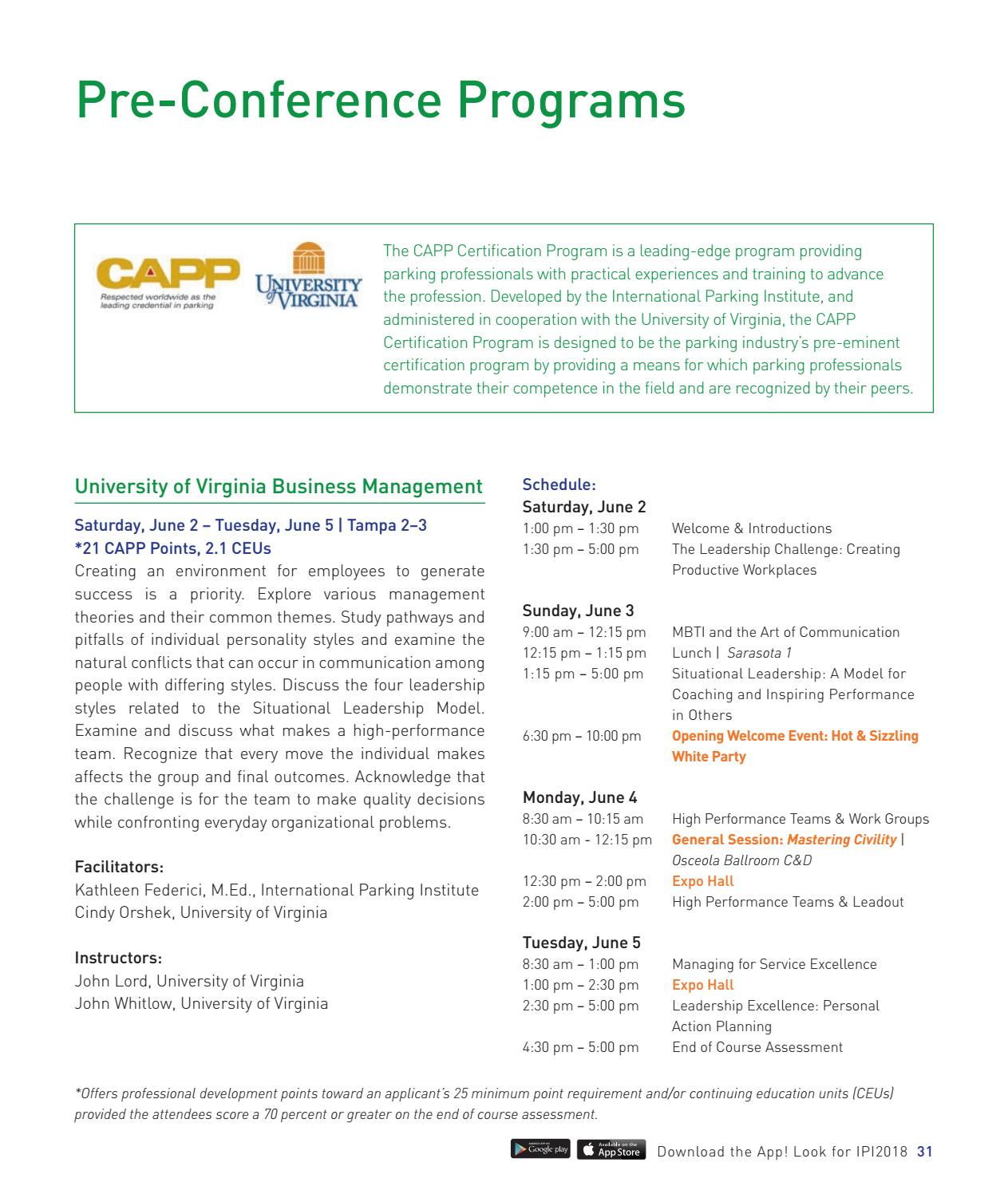 2018 Ipi Conference Expo Official Conference Program Guide By