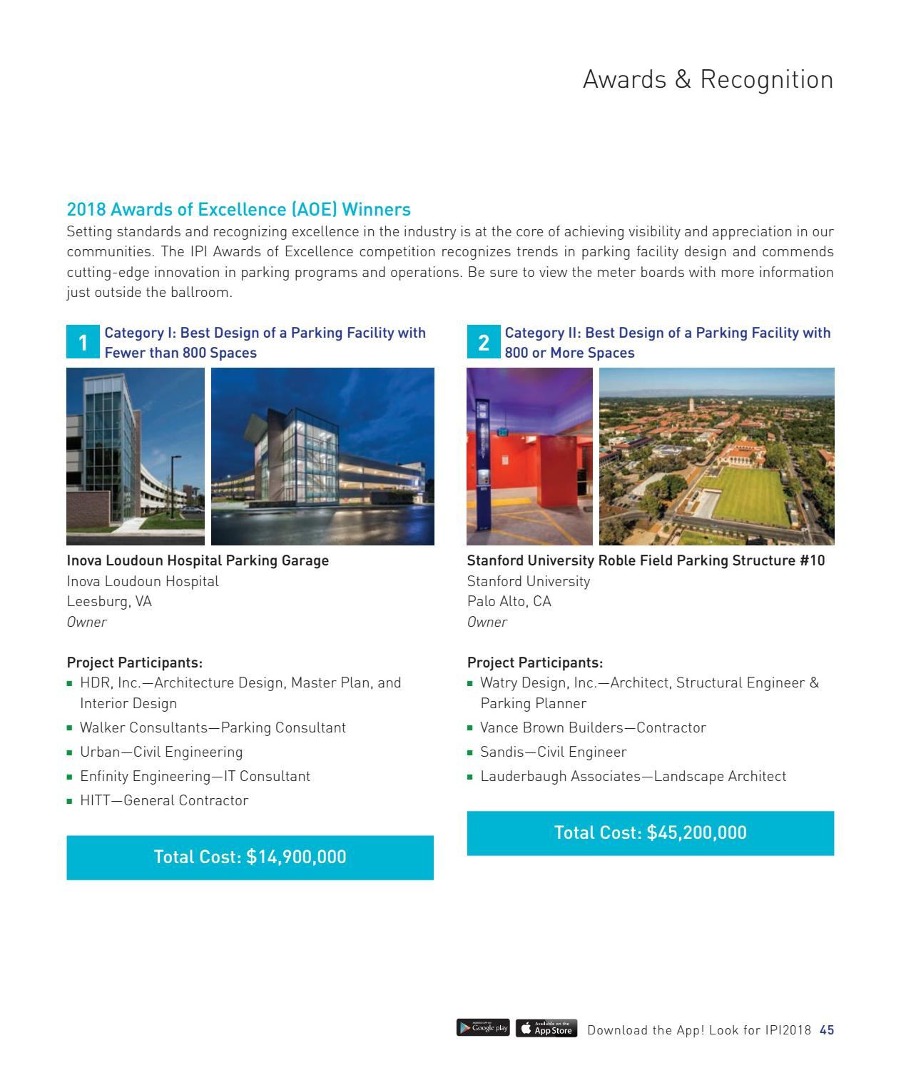2018 IPI Conference & Expo - Official Conference Program