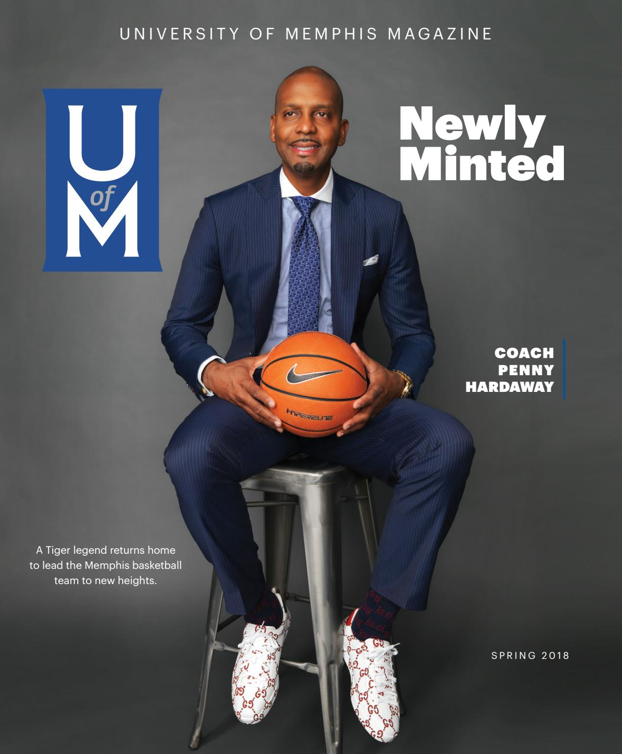 brand new b66b4 8c48d UofM Magazine Spring 2018 by University of Memphis - issuu
