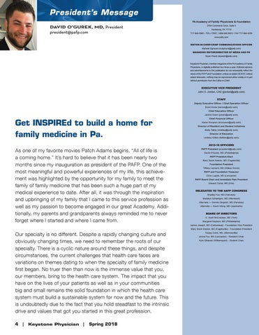 Page 4 of Get INSPIREd to build a home for family medicine in Pa.