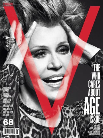 df1c7de2b V68 THE WHO CARES ABOUT AGE ISSUE by V Magazine - issuu