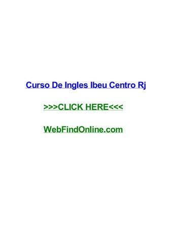 Curso De Ingles Ibeu Centro Rj By Lisantec Issuu