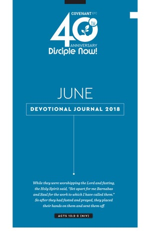 June Devotional Journal 2018 by Covenant EFC - issuu