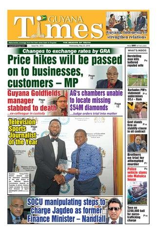 Guyanatime 23 may 2018 by Gytimes - issuu