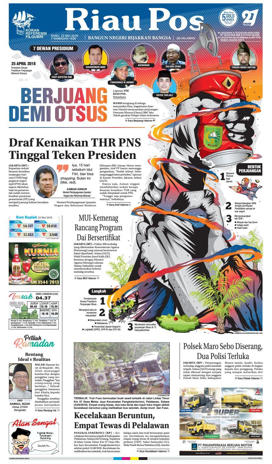 2018 05 23 By Riau Pos Issuu Produk Ukm Bumn Suscho Sus Coklat Surabaya