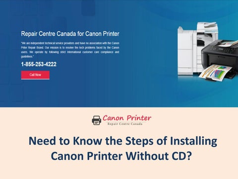 Need to Know the Steps of Installing Canon Printer Without CD?