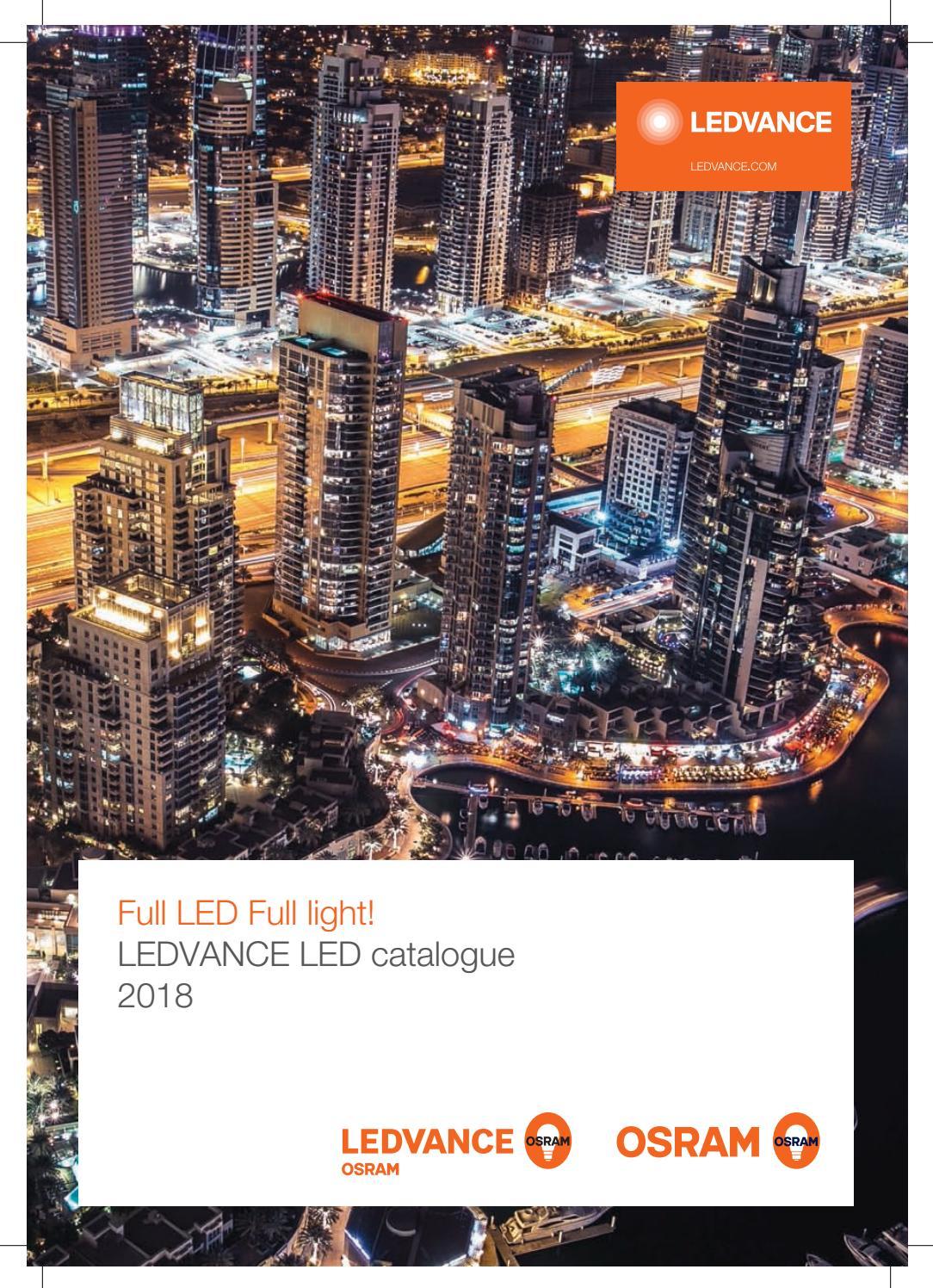Osram Ledvance Catalogue 2018 By Led World Issuu 2014 Hot Tube Circuit 4ft Light Diagram