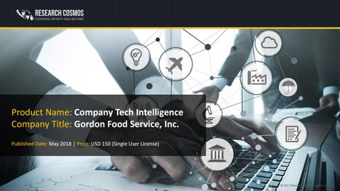 GORDON FOOD SERVICE, INC  Company Profile and Tech Intelligence