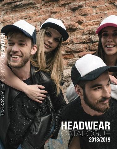 Headwear24 Catalogue 2018 19 by Shelley Buckle Ferreira - issuu 85b2a40aec7d