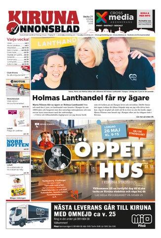 sale retailer c7a49 f5341 Kiruna Annonsblad by Svenska Civildatalogerna AB - issuu
