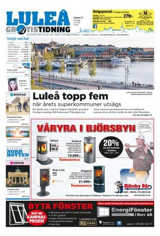 new styles f6e64 14fcb Luleå Gratistidning by Svenska Civildatalogerna AB - issuu