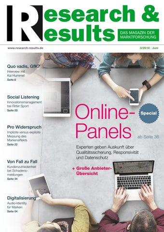 Research & Results 3/2018 by Research & Results - issuu