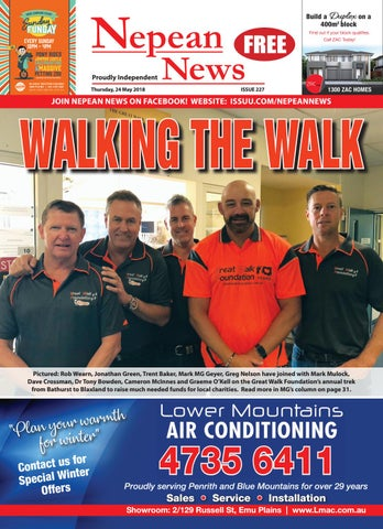9a275a4ee02 Nepeannews 24may2018 by Nepean News - issuu