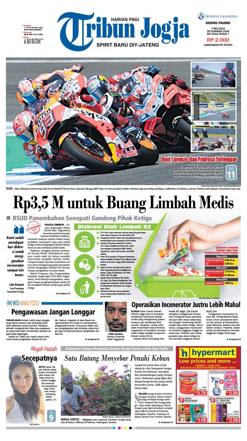 tribunjogja 07 05 2018 by tribun jogja issuu240 Barisan Kasir Minimarket Ini Bisa Bikin Kamu Betah Belanja Di Minimarket Guys #11