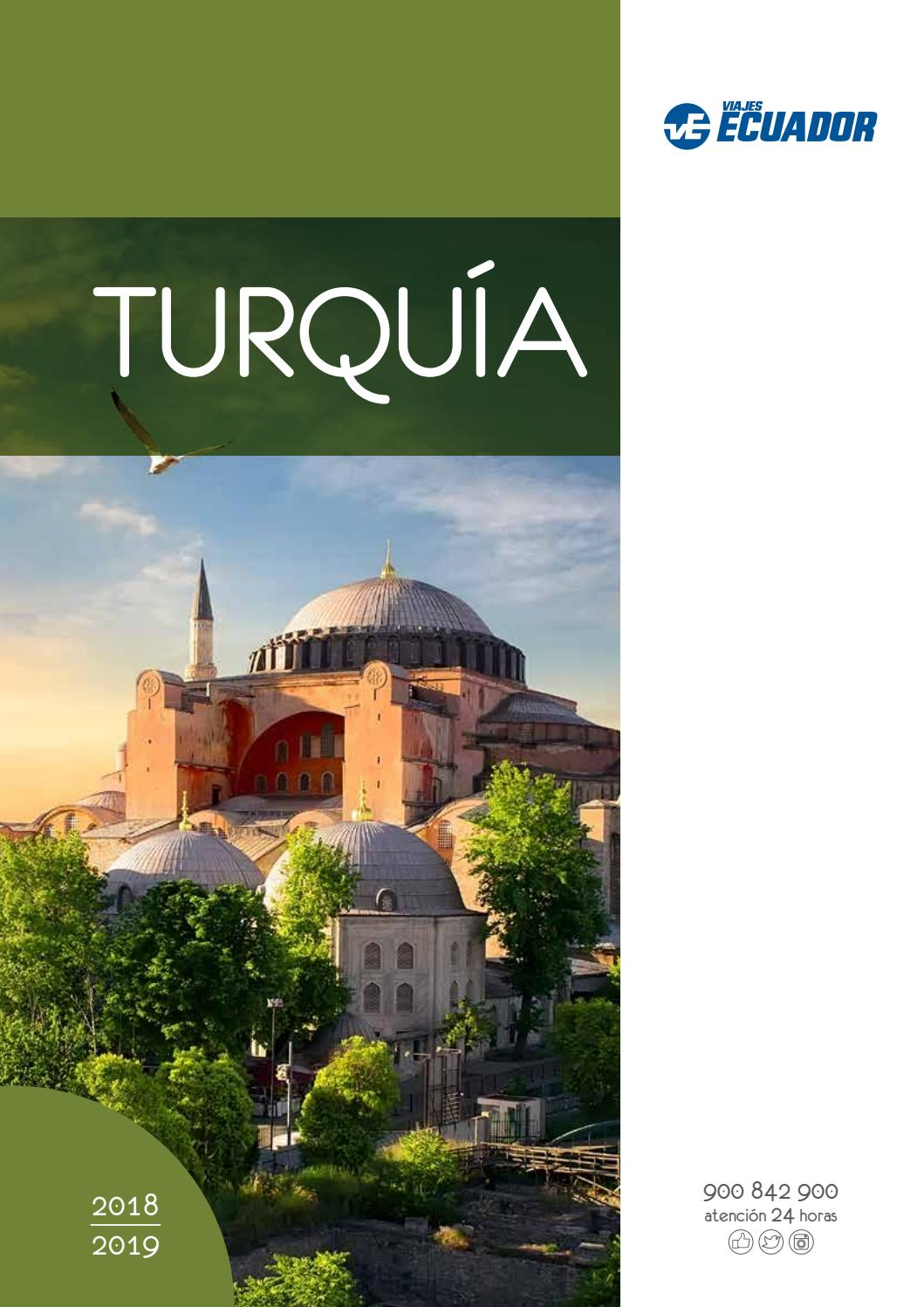8372cb2e0 Viajes Ecuador. Turquía 2018-2019 by Globalia - issuu