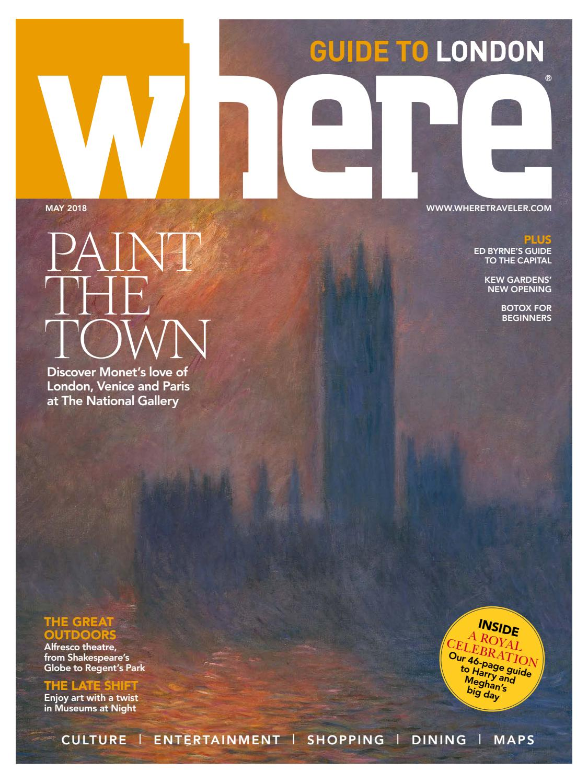 Where Magazine London May 2018 by Morris Media Network - issuu
