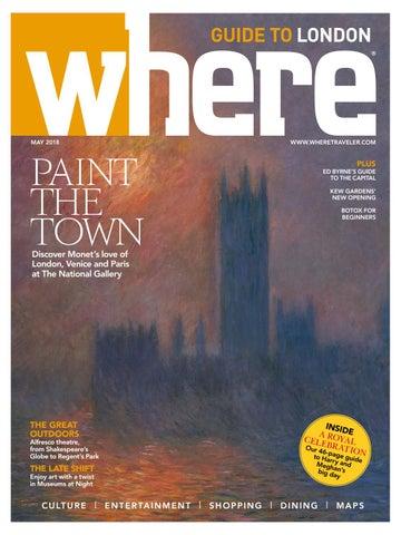 73a7cfad Where Magazine London May 2018 by Morris Media Network - issuu