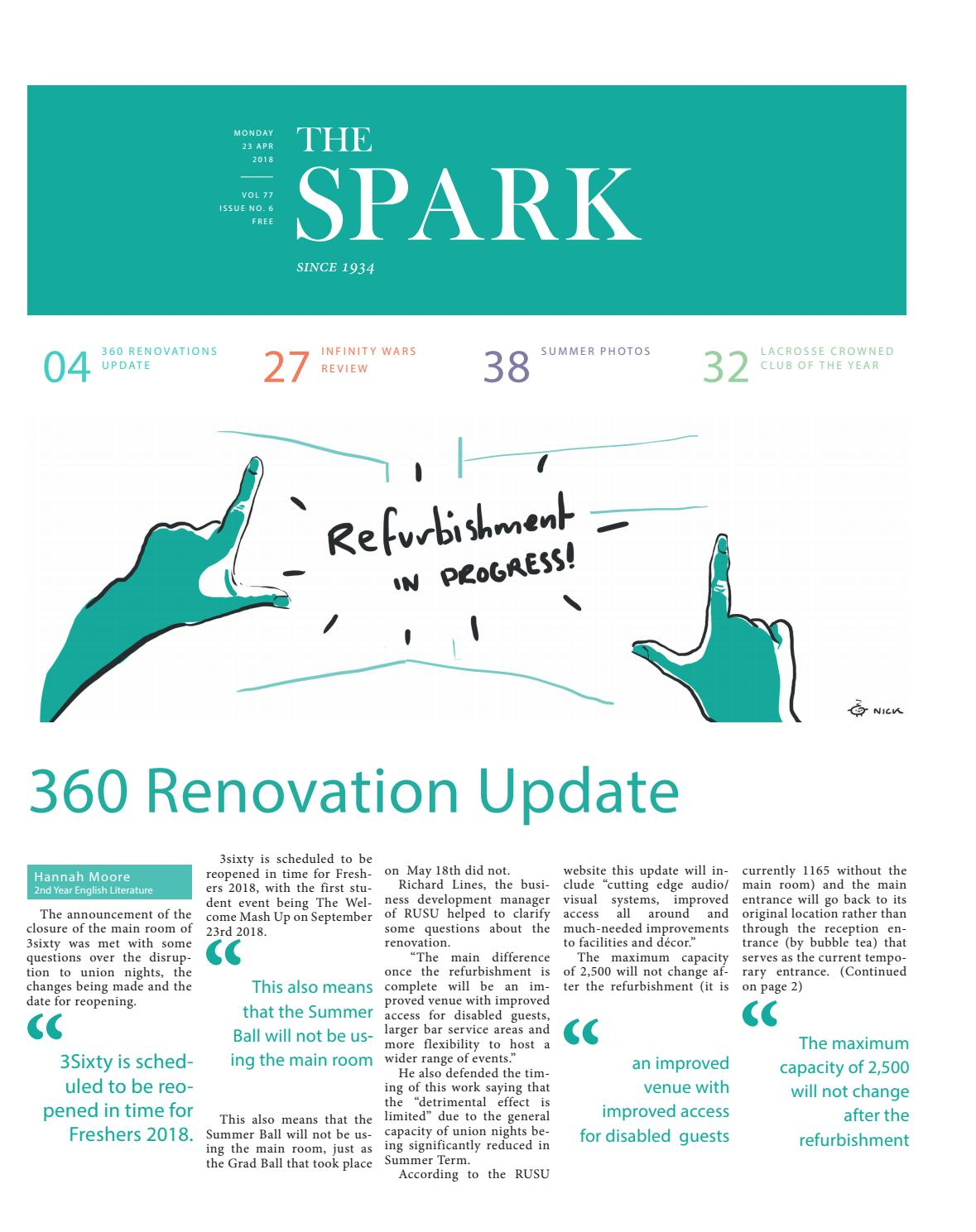 a544703a95 The Spark Newspaper May 2018 by The Spark - issuu