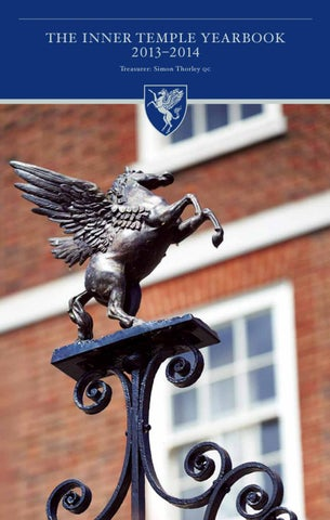 db87dc7a31 The Inner Temple Yearbook 2013-2014 by The Inner Temple - issuu