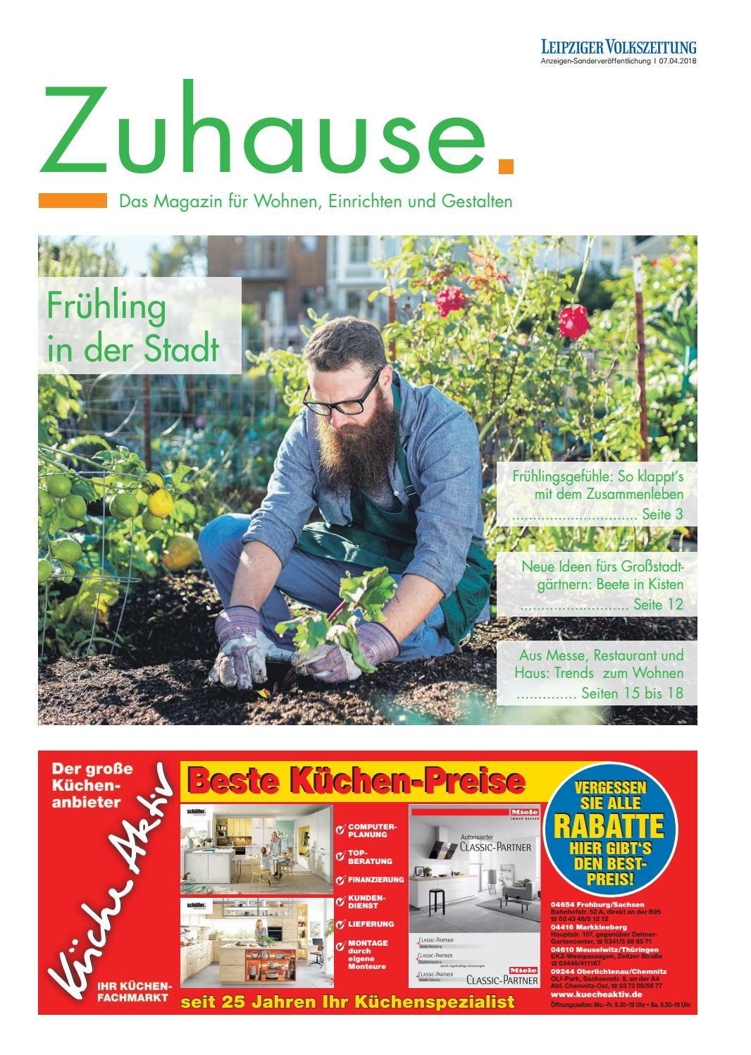 Zuhause April 2018 Das Magazin Fur Wohnen Einrichten Und