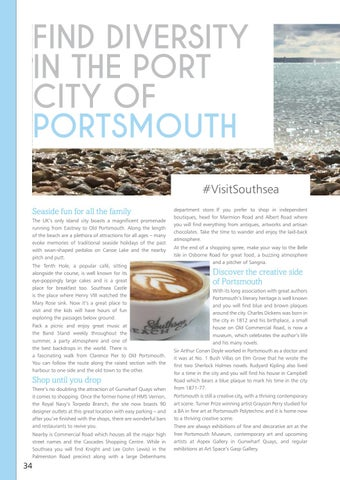 Page 34 of #VisitPortsmouth