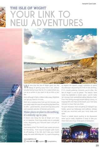 Page 39 of #VisitIsleofWight