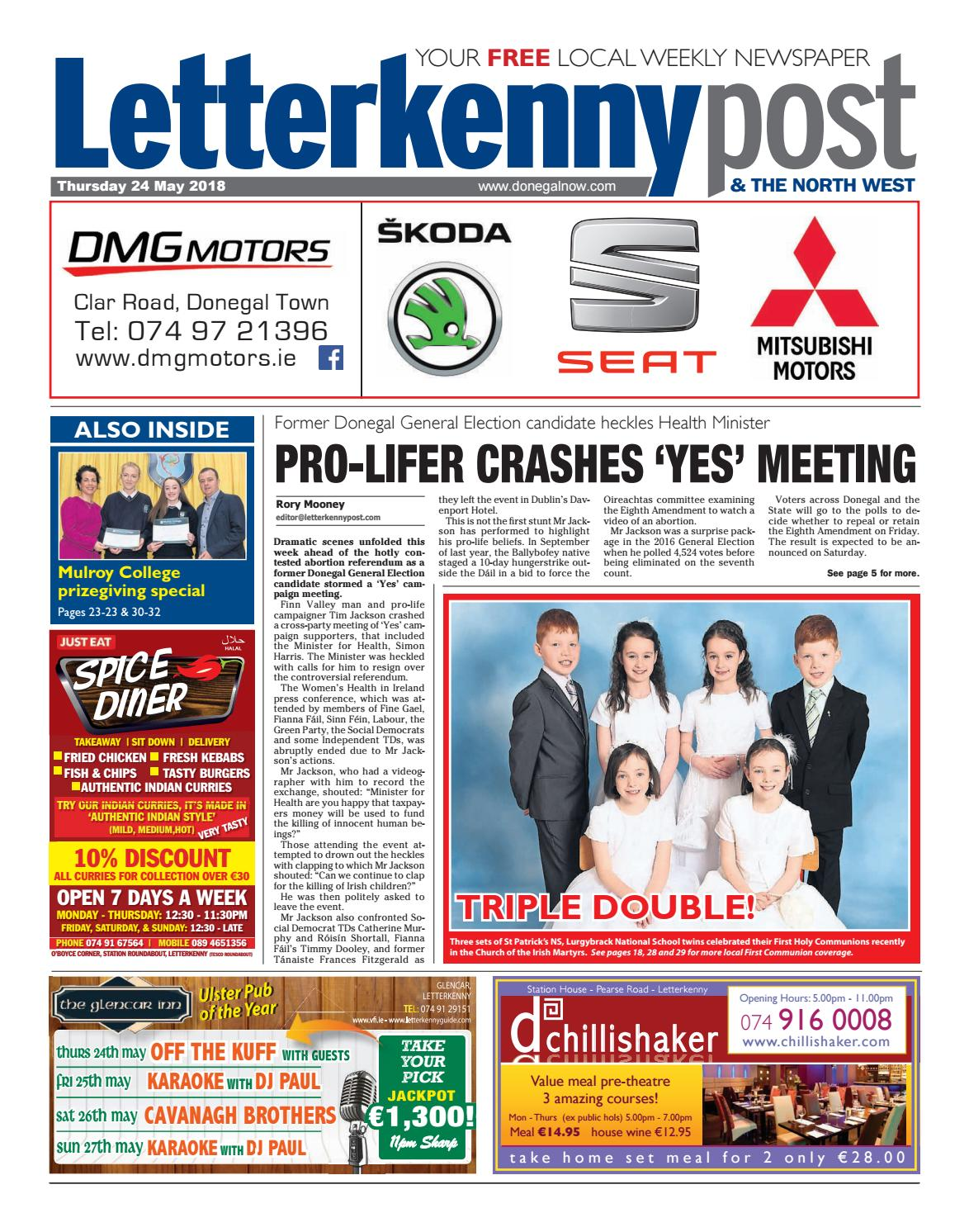 Letterkenny Post 24 05 2018 By River Media Newspapers Issuu