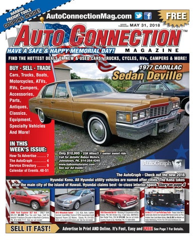 05-31-18 Auto Connection Magazine by Auto Connection