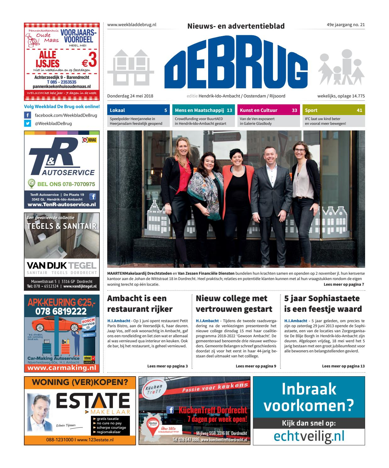 Lars Tv Meubel Karwei.Weekblad De Brug Week 21 2018 Editie Hendrik Ido Ambacht By