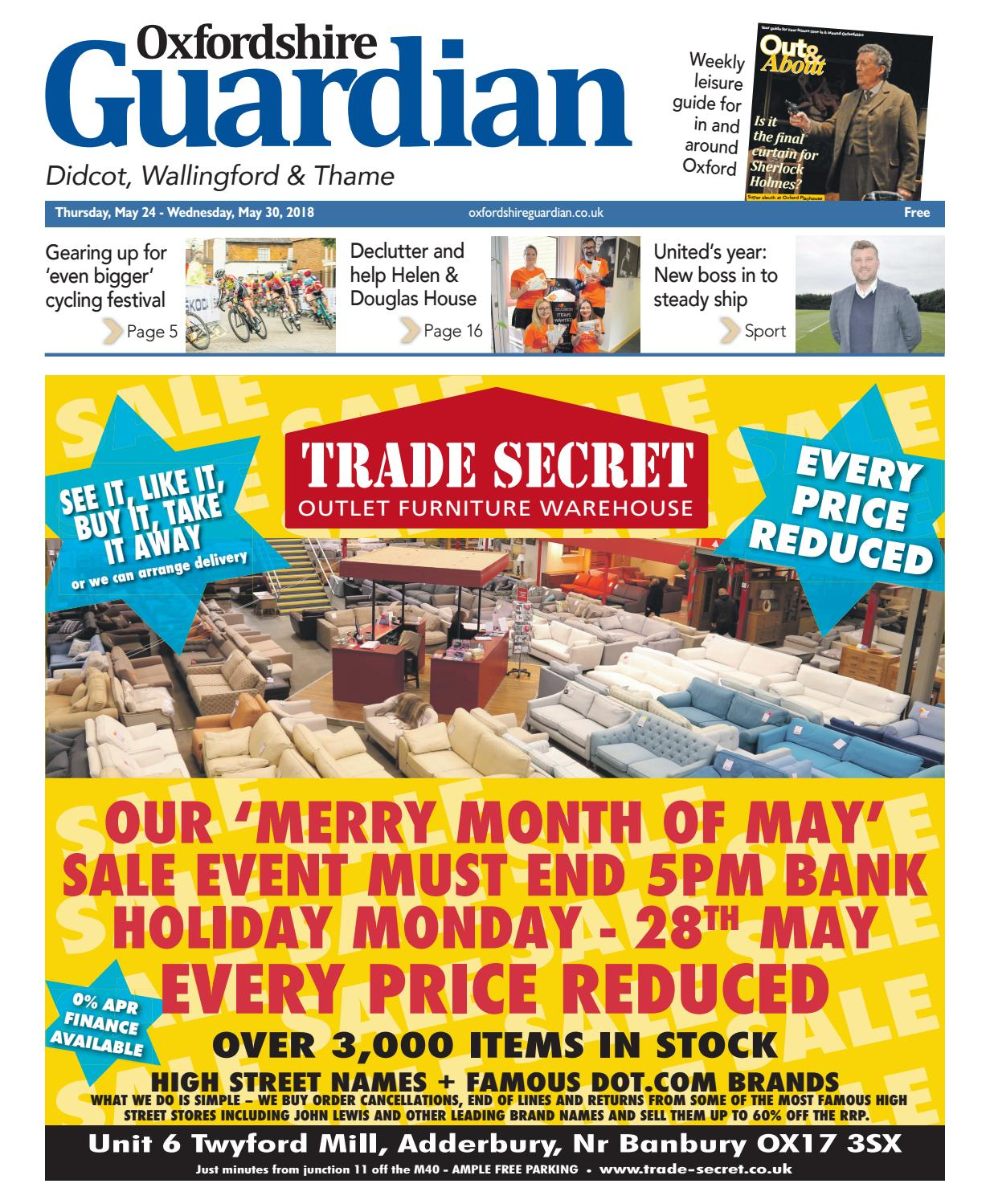 24 may 2018 oxfordshire guardian didcot by Taylor Newspapers - issuu e2dc25e9329