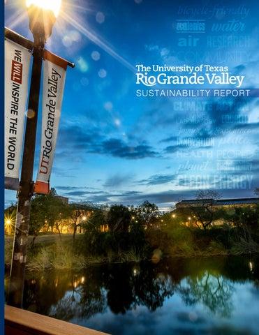 UTRGV Sustainability Report by UTRGV Office For