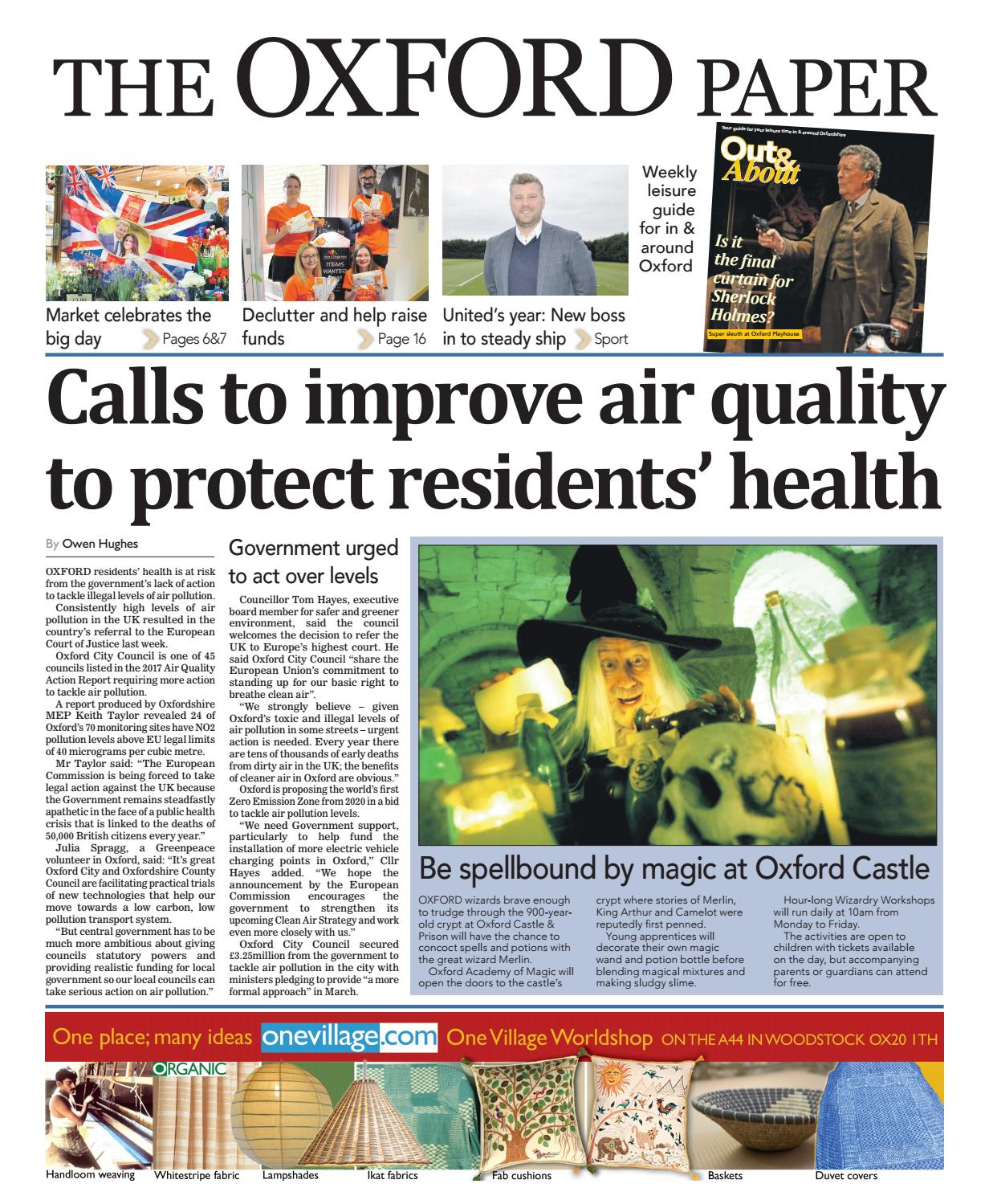 24 may 2018 the oxford paper by Taylor Newspapers - issuu b2587b93642