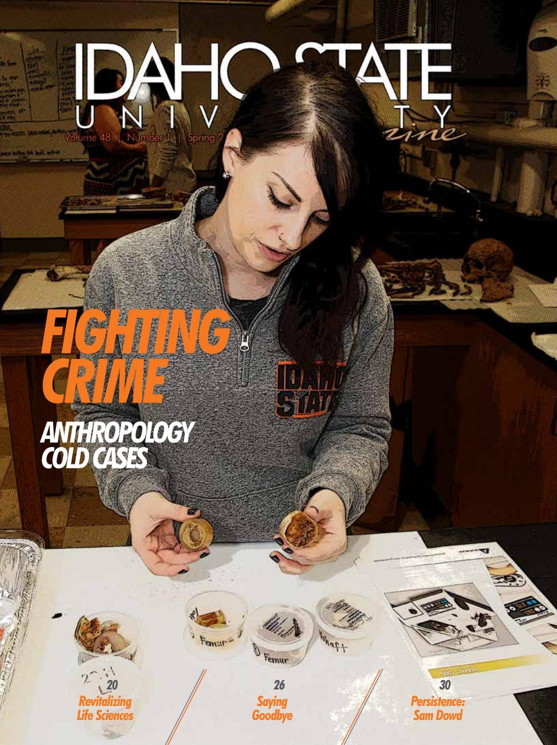 Idaho State University Magazine, Spring 2018 by Idaho State