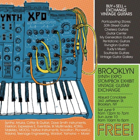 Page 2 of Stompbox Exhibit, Synth Expo and Vintage Guitar Exchange!