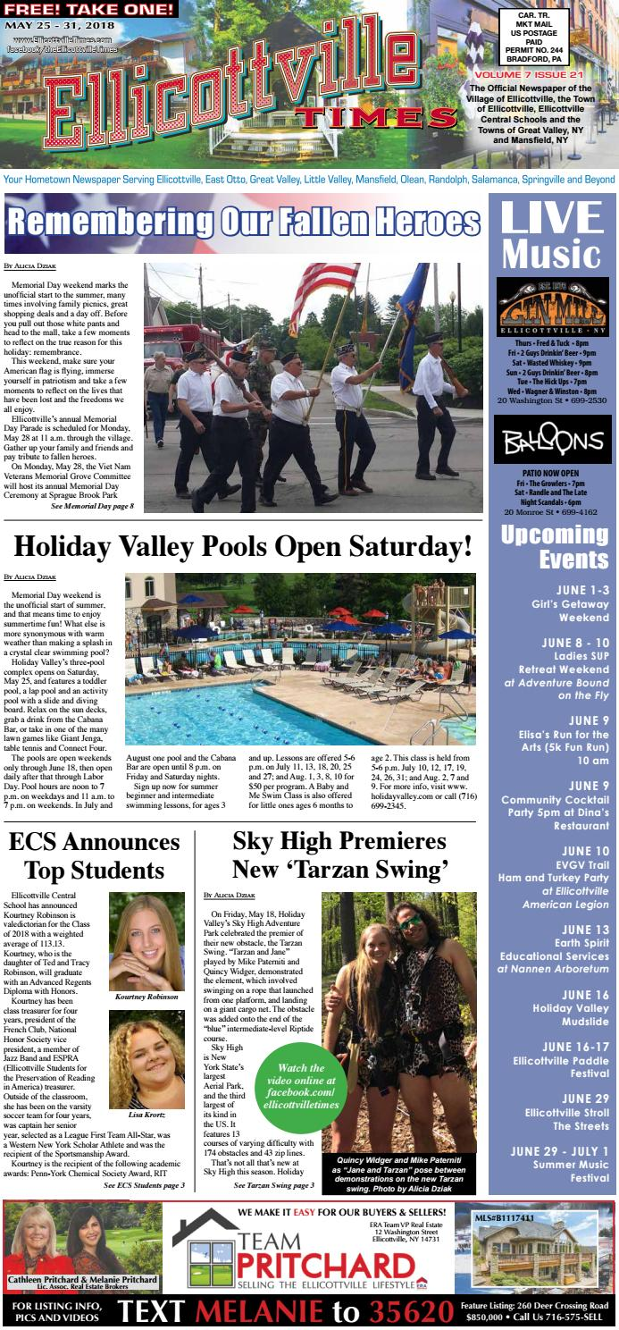 5-25-18 Ellicottville Times by Ellicottville Times - issuu