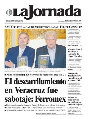 La Jornada, 02/26/2018 by La Jornada: DEMOS Desarrollo de Medios SA de CV -  issuu