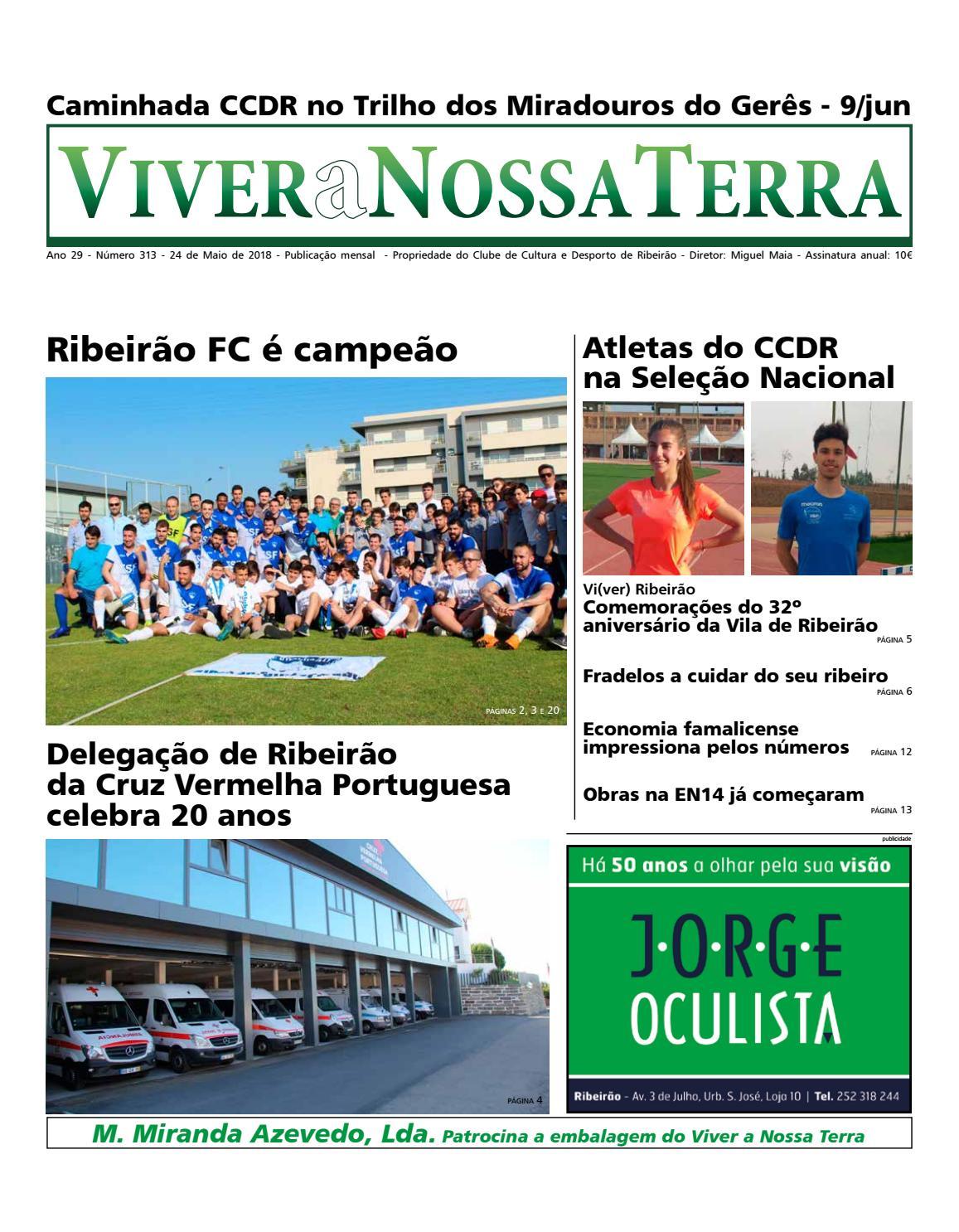 Viver a Nossa Terra - Maio 2018 by Jornal Viver a Nossa Terra - issuu 84467a01b913