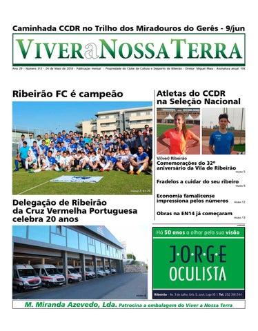 Viver a Nossa Terra - Maio 2018 by Jornal Viver a Nossa Terra - issuu 2994e35d3c
