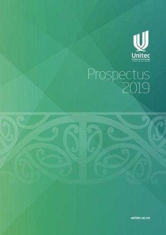 Unitec Prospectus 2019 by Unitec Institute of Technology - issuu