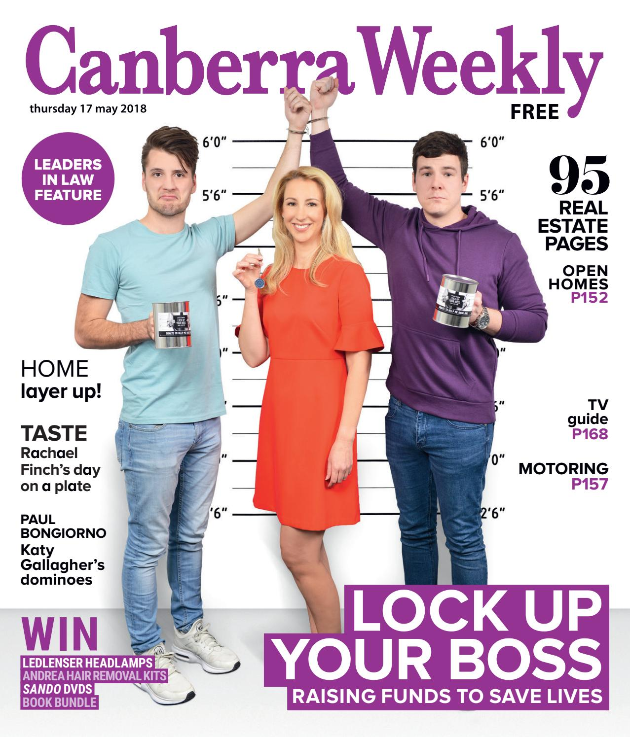 35edf1e4ed 17 May 2018 by Canberra Weekly Magazine - issuu