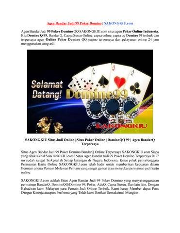 Agen Bandar Judi 99 Poker Domino Sakongkiu Com By Situs Judi Online Issuu