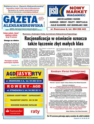 e90e7cd6517492 Gazeta aleksandrowska 135 2018 by Wydawnictwo Kujawy - issuu
