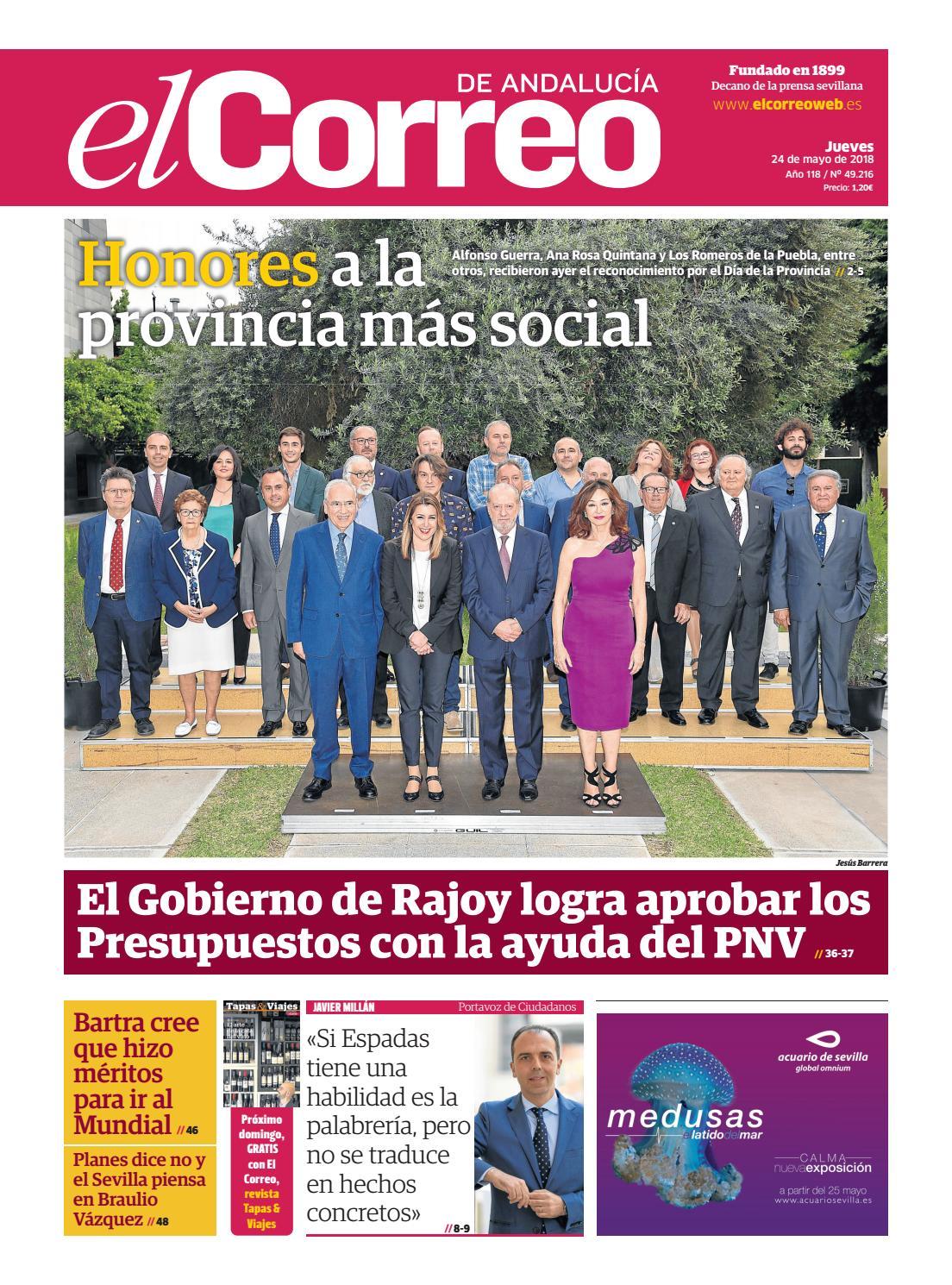 b5545645082e 24.05.2018 El Correo de Andalucía by EL CORREO DE ANDALUCÍA S.L. - issuu